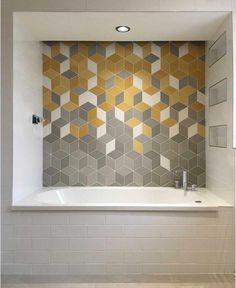 Thirty Beautiful Creative concepts For Small Laundry Rooms, Small Bathroom, Master Bathroom, Washroom, Modern Wall Decor, Modern Bathroom Design, Bathroom Interior Design, Loft Design, House Design
