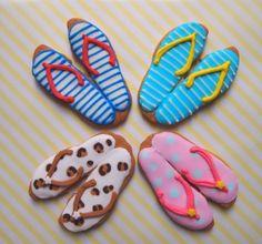 夏のアイシングクッキー   ぴり。ぴりか