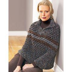 Free Intermediate Women's Poncho Knit Pattern