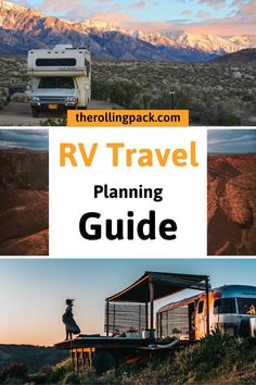 This complete RV trip planner includes suggested RV road trip routes, essential RV accessories, RV apps for your smartphone, RV campground suggestions, and more! Bus Life, Camper Life, Camper Van, Rv Trip Planner, Travel Planner, Camping Humor, Rv Camping, Outdoor Camping, Rv Travel