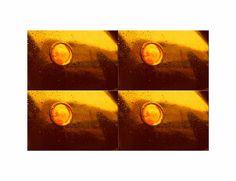 """'Viererbild """"Goldente (2)"""" pp' von Rudolf Büttner bei artflakes.com als Poster oder Kunstdruck $19.41"""