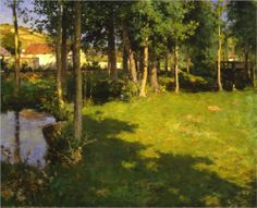 Giverny - Willard Metcalf