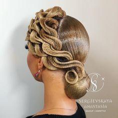 53 Box Braids Hairstyles That Rock - Hairstyles Trends Braided Crown Hairstyles, Rock Hairstyles, Best Wedding Hairstyles, Box Braids Hairstyles, Pretty Hairstyles, Dance Competition Hair, Ballroom Dance Hair, Hair Designs, Hair Trends