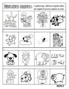Build Your Brazilian Portuguese Vocabulary Learn Portuguese, Interactive Notebooks, Vocabulary, Sos Professor, Things To Come, Clip Art, Teaching, Year 2, Felting