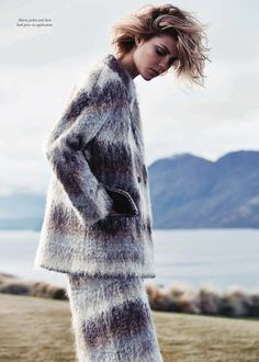 Lydia Collins Willemina by Simon Upton for Harper's Bazaar Australia September 2013