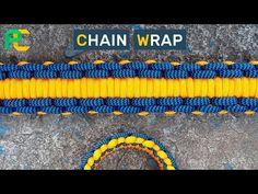 Chain Wrap Paracord Bracelet - YouTube
