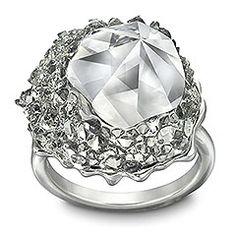 Poison Black Diamond Ring