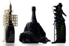Zarb Champagne Brand Creates Unconventional Artistic Bottle Designs