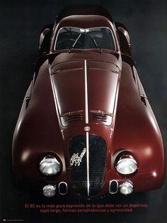 1938 Alfa Romeo 8C 2900B Le Mans Berlinetta