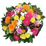 Jubilant Flower Basket