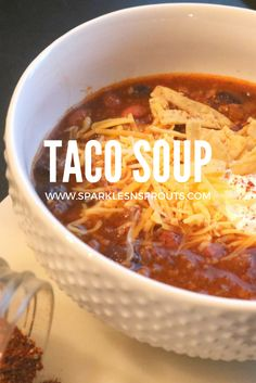 Taco Soup is a favor