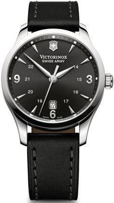 Victorinox Swiss Army Watch Alliance #bezel-fixed #bracelet-strap-leather #brand-victorinox-swiss-army #case-material-steel #case-width-38mm #classic #date-yes #delivery-timescale-call-us #dial-colour-black #gender-mens #movement-quartz-battery #official-stockist-for-victorinox-swiss-army-watches #packaging-victorinox-swiss-army-watch-packaging #style-dress #subcat-alliance #supplier-model-no-241474 #warranty-victorinox-swiss-army-official-3-year-guarantee #water-resistant-100m