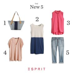 Check out our top 5 new #Esprit arrivals and choose your favorite!