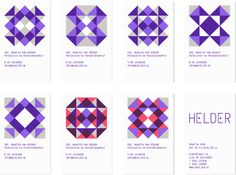 HELDER - visual identity by Leon Dijkstra COOEE, via Behance