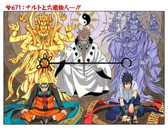 671: Naruto and The Sage of Six Path...!!
