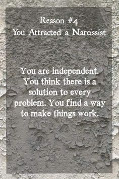 What are narcissists attracted to Source by Narcissistic People, Narcissistic Behavior, Narcissistic Abuse Recovery, Narcissistic Sociopath, Narcissistic Personality Disorder, Narcissistic Mother, Relationship With A Narcissist, Toxic Relationships, Emotional Abuse