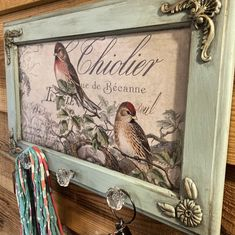 Chalk Crafts, Craft Stick Crafts, Crafts To Do, Cabinet Door Crafts, Americana Crafts, Wall Painting Decor, Iron Orchid Designs, Shabby Chic, Decoupage Vintage