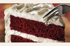 Red Velvet Cake with Cream Cheese Frosting! Oh... how us gluten free people have missed you! Taste just like a red velvet cake should, we had an expert try it! It really is a melt in your mouth dessert...