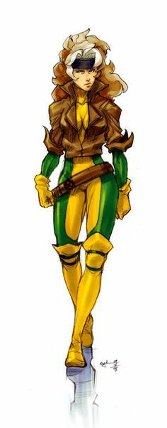 Rogue - the beautiful bad ass Southern Belle of the X-Men #xmas_present