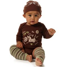 Ruf Rider Short Sleeve Onesy-zootie b little, onesie, baby, infant, boy, girl, trendy, baby boutique, baby shower gift, ruf rider