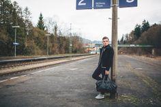 Wir haben für das Münchener #Taschenlabel #SOUVE das Lookbook für 2015 produziert.   #Germany #Taschen #Männertaschen #Accessoires #Streetstyle