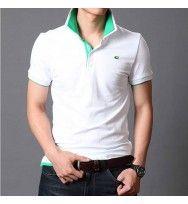 Camisa Polo Masculina Gola Dupla Moderna