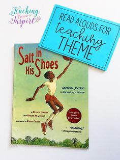 If you are looking for theme mentor texts or read alouds for teaching theme, this post shares 6 read alouds with summaries and possible themes for each. Reading Themes, Reading Activities, Teaching Reading, Guided Reading, Reading Logs, Reading Lessons, Guided Math, Learning, Third Grade Reading