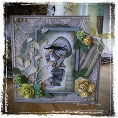 Handmade Cards (Scrapbooking) - Kenny K Image - Troublemaker