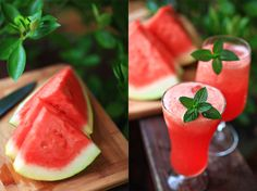 Watermelon-Lime Agua Fresca