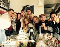 Who's who!It was a virtual roll call of high powered Hollywood babes when Aussie ex-pats ...