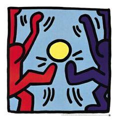 PEINTURE - A priori, le football tel que nous le connaissons ne devrait pas faire partie de la culture underground new-yorkaise. Quelques oeuvres de Keith Haring viennent contredire cette idée bien...