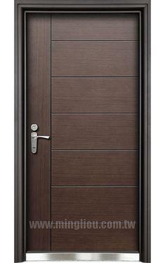 Flush Door Design, Door Gate Design, Bedroom Door Design, Door Design Interior, Wooden Front Door Design, Wooden Front Doors, Internal Wooden Doors, Single Main Door Designs, Modern Wood Doors
