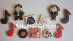 Galletas Decoradas.Grease movie cookies. Periquita Giménez