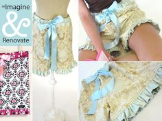 http://www.sew4home.com/projects/fabric-art-accents/re-imagine-renovate-wearables-dreamy-sleep-shorts
