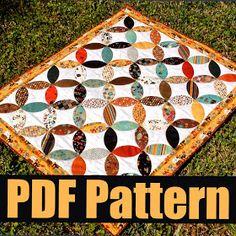 Frivolous Necessity: Free Quilt Pattern for Applique Sashiko Circles