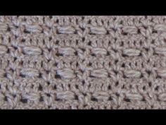 Punto fantasía N° 2 en tejido crochet tutorial paso a paso. - YouTube