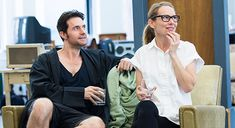 Richard Armitage and Amy Ryan LOVE, LOVE, LOVE THE HAROLD AND MIRIAM STEINBERG CENTER FOR THEATRE The Laura Pels Theatre
