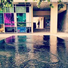 Maya Lin's water table at the Claire Trevor School of the Arts ~ Uc Irvine Campus, Maya Lin, Claire Trevor, Campus Map, The Expanse, The Dreamers, Places To Go, Mansions, House Styles