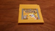 This item is unavailable Gameboy Pokemon, Gameboy Games, Nintendo Games, Pikachu, Original Nintendo, Game Boy, Video Game Console, My Childhood, My Etsy Shop