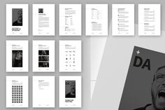 Ad: 12 Pages - Minimal Resume CV by Egotype on Minimal Resume template with 104 Files in one Package! The Minimal Resume template is an Indesign, Photoshop and Illustrator template for Resume Cv, Resume Design, Identity Design, Cv Design, Cover Letter For Resume, Cover Letter Template, Cv Curriculum Vitae, Back Cover Design, Design Spartan