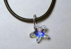 Swarovski Starfish Charm Necklace
