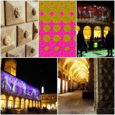 Le formelle del Palazzo del Podestà prendono vita! L'instalazione interattiva a cura di Loop e Comune di Bologna.   Bologna, Piazza Maggiore,  Palazzo Podestà