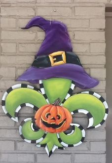Witch Hat Fleur de Lis
