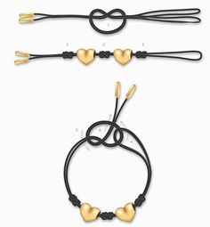 How to wear pandora leather string bracelet