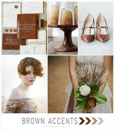 Brown Wedding InspirationComments