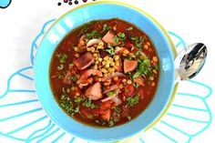 Resepti: Makkara-linssikeitto Chili, Sausage, Soup, Recipes, Chile, Sausages, Recipies, Soups, Ripped Recipes