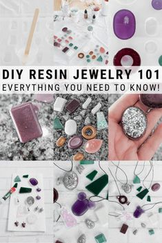 Learn how to make resin jewelry. These resin ideas will inspire even beginner resin crafters. I'm sharing everything you need to know, including troubleshooting 8 common issues when making resin jewelry. Resin Jewelry Tutorial, Resin Jewlery, Resin Jewelry Molds, Making Resin Jewellery, Resin Tutorial, Jewelry Making Tutorials, Diy Resin Beads, Diy Resin Necklaces, Diy Resin Earrings