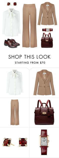 Смарт кэжуал - груша by gala-bell on Polyvore featuring Gucci, MaxMara, Wallis, Monki, Mulberry, David Yurman, Cartier, women's clothing, women's fashion and women