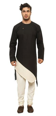 One can combine and pair these 15 Indian mens kurta shirt designs and patterns with right accessories and bottoms to create a perfect look and outfit. Mens Indian Wear, Indian Men Fashion, Mens Fashion Wear, Man Fashion, Hipster Fashion, Hijab Fashion, Kurta Men, Boys Kurta, Mens Traditional Wear