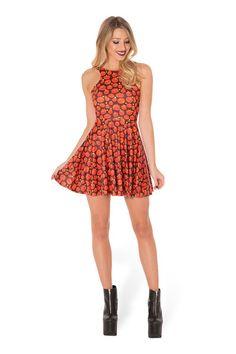 Pumpkin Patch Reversible Skater Dress › Black Milk Clothing